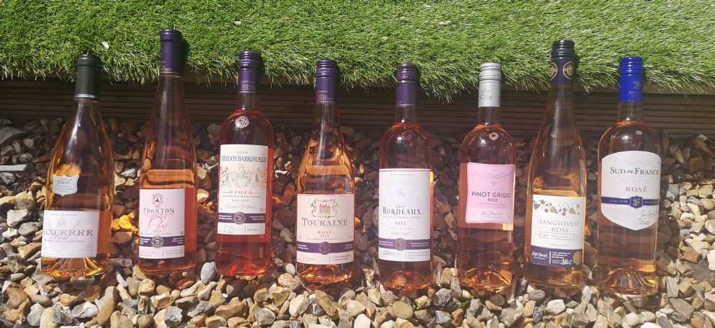 8 Rose wines from the Supermarket