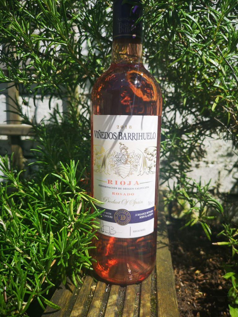 rose wine rioja sainsburys taste the difference