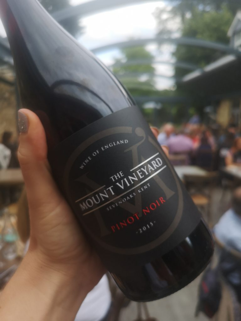 the mount vineyard pinot noir red wine
