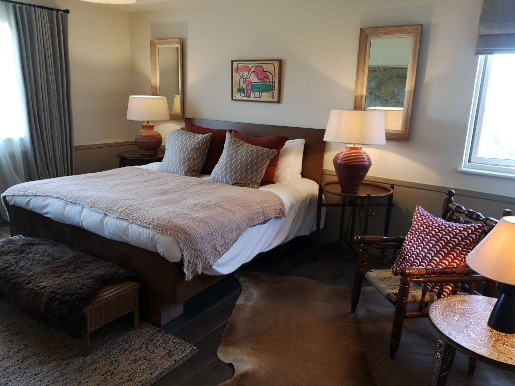 hotel room at tillingham wines