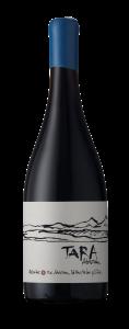 Tara Pinot Noir wine bottle from atacama desert